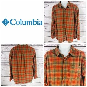 Columbia Men's Long Sleeve Flannel Shirt